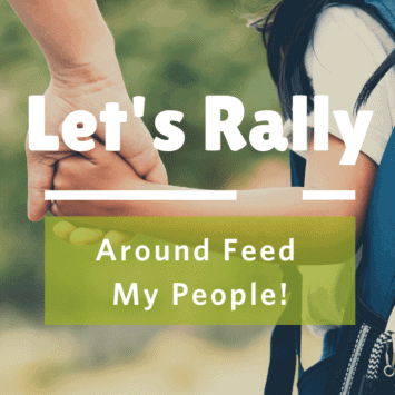 Let's Rally Around Feed My People!